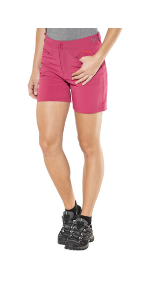Bergans Cecilie Climbing Shorts Ladies Bougainvillea Melange/Strawberry